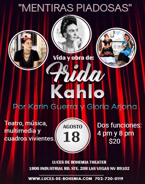 Mentiras Piadosas Vida Y Obra De Frida Kahlo En Luces De Bohemia